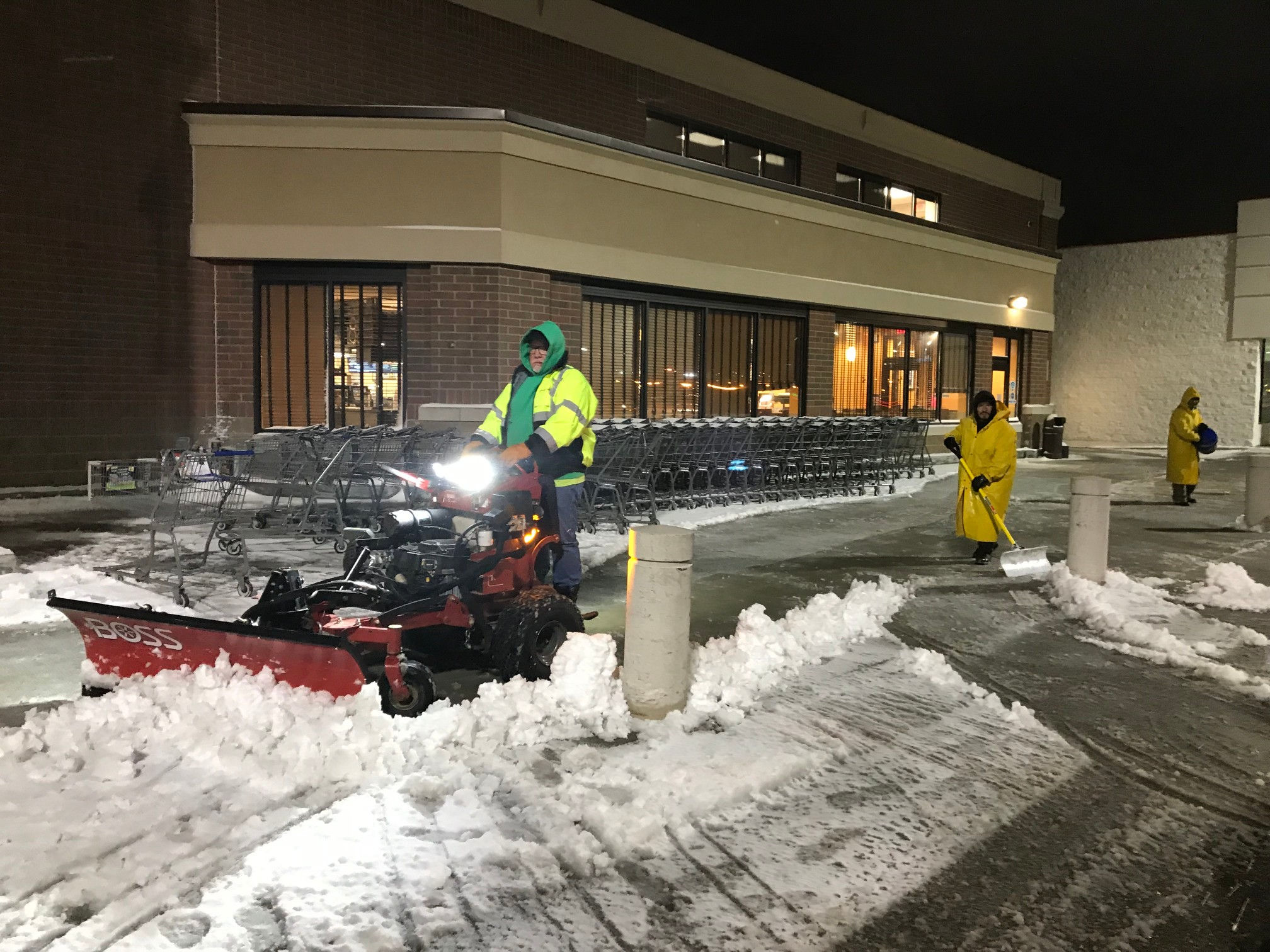 Snow Management Services for Commercial Properties
